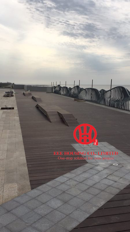Easy To Install Carbonized Bamboo Outdoor Decking