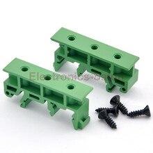 (50 шт./лот) Монтаж на DIN Рейку Адаптеры (Ноги), для 35 мм, 32 мм или 15 мм DIN-рейку.