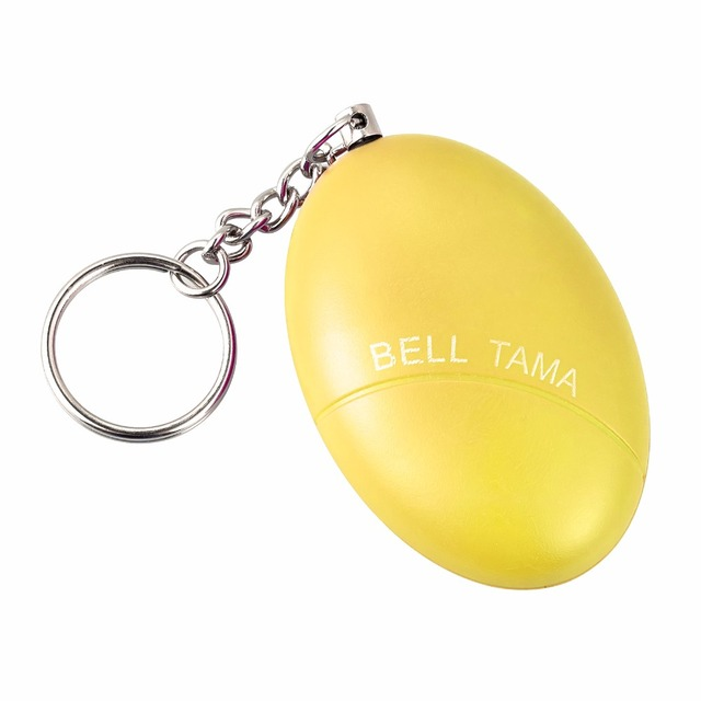 Portable Keyring Defense Personal Alarm Girl Women Anti-Attack Security Protect Alert Emergency Safety Mini Loud Keychain Alarm