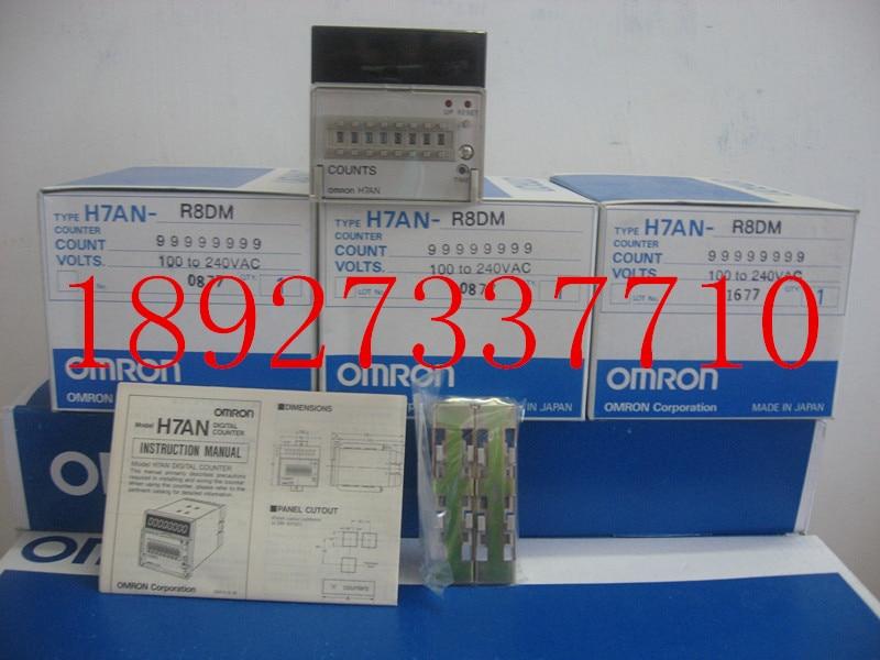 [ZOB] Supply of new original Omron omron digital counter H7AN-R8DM AC100-240 relay [zob] 100% new original omron omron proximity switch e2e x10d1 n 2m