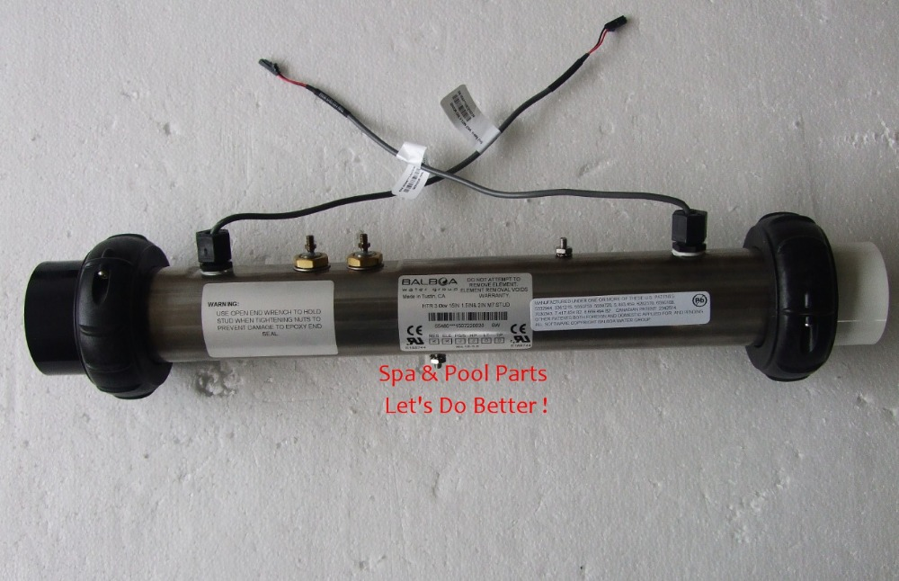 Balboa GS510S 3KW ensemble chauffage Spa inc M7 capteurs réparation M7 Jazzi Winer JNJ bain à remous pièces de rechange