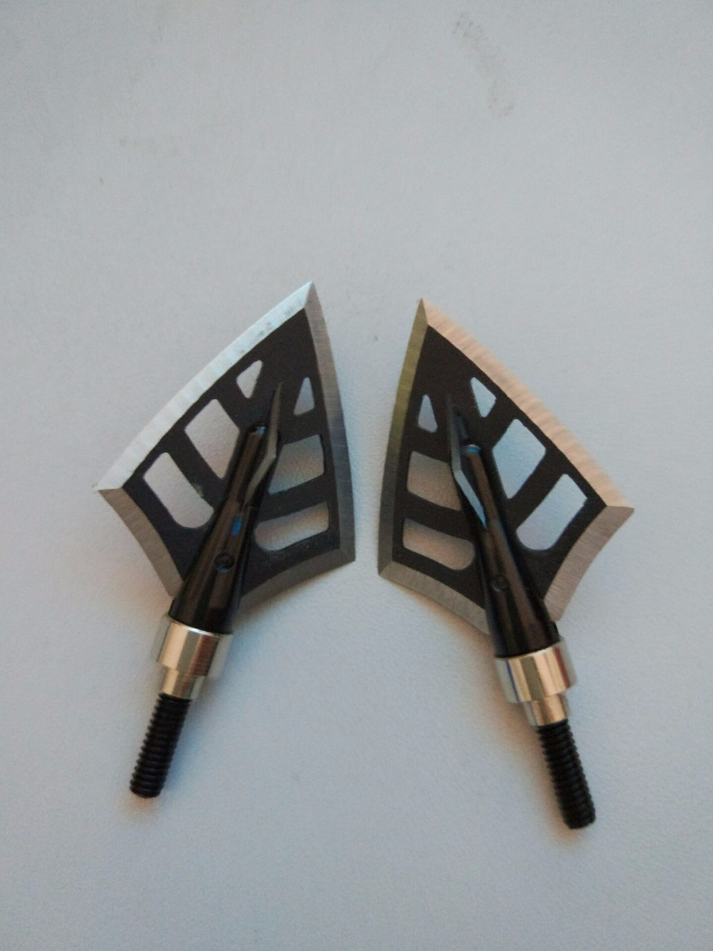 3pcs/6pcs Archery Arrow Broadheads Dirt Nap Gear 125 Grain 2 Blades Hunting Points Arrow Tips Arrowheads