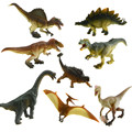 Starz 8Pcs/set Jurassic World Park Plastic PVC Dinosaurs Models Action Figures Boys Gift T-rex Pteranodon Dinosaur Kids Toys