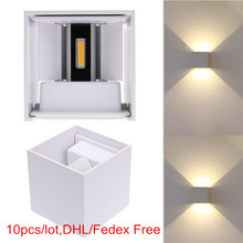 Waterproof 6W 12W LED outdoor lights Surface Mounted LED Wal