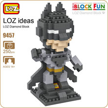 LOZ Diamond Blocks Super Hero Action Figure Toys Mirco Bricks Mini Building Block Sets Plastic Assembly