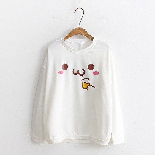 2018 Mori Fille Coton Blanc T Chemises Femmes Japonais Kawaii De