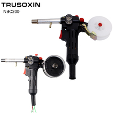 MIG welding machine Spool Gun Push Pull Feeder Aluminum copper or stainless steel DC 24V Motor Wire 0.6-1.2mm Welding Torch nylon body toothed roller jinslu 6 feet mig spool gun push pull feeder aluminum steel torch no connector