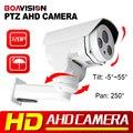 1.0MP PTZ Пуля AHD Камеры 6 мм Объектив, HD 720 P Ночного Видения ИК 30 М Открытый Водонепроницаемый ИК-CUT, Средняя Скорость Панорамирования/Наклона Вращения