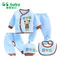 Newborn Gift Set Cotton Winter Baby Boy Outfit Clothing Set Bear Bebes Suit Warm Tshirt Pants Infant Newborn Suits Clothes Sets