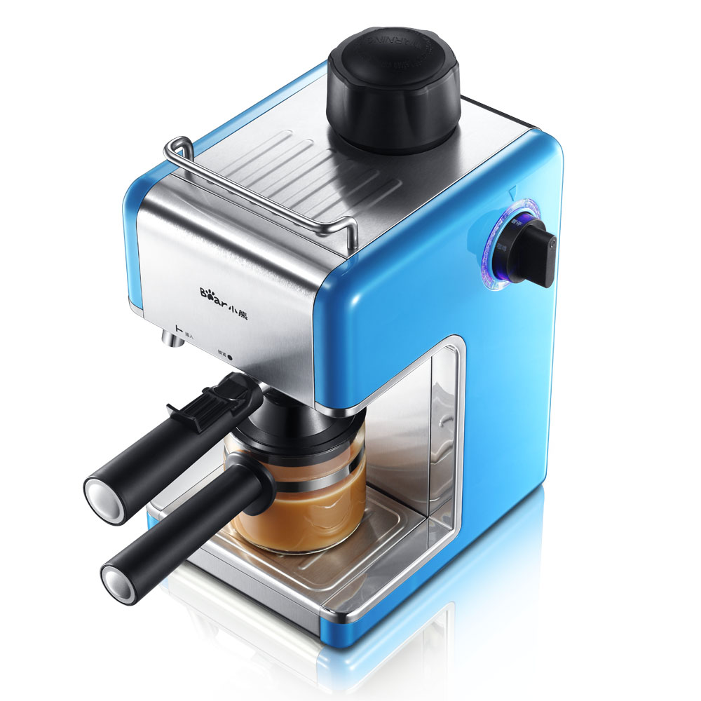 china Bear household Coffee maker semi-automatic italian cafe espresso coffee machine maker 5bar KFJ-202AA 240ml 220v italy espresso coffee machine semi automatic maker cup warming plate kitchen