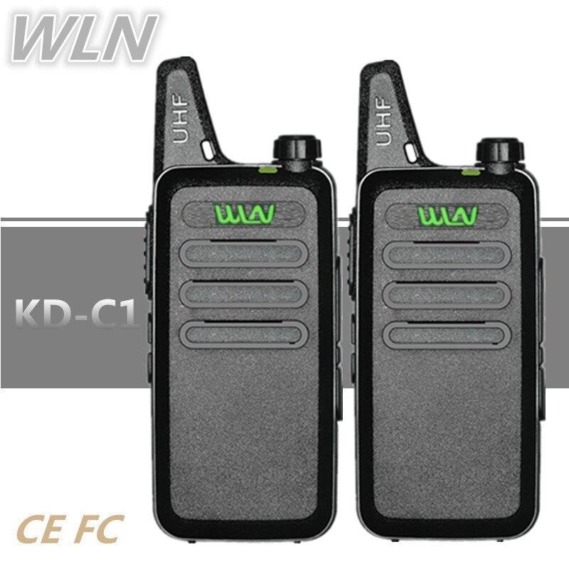 2 шт., портативная мини-рация WLN, 5 Вт, HF, приемопередатчик, BAOFENG, детская радиоприемник, UHF, любительская радиостанция