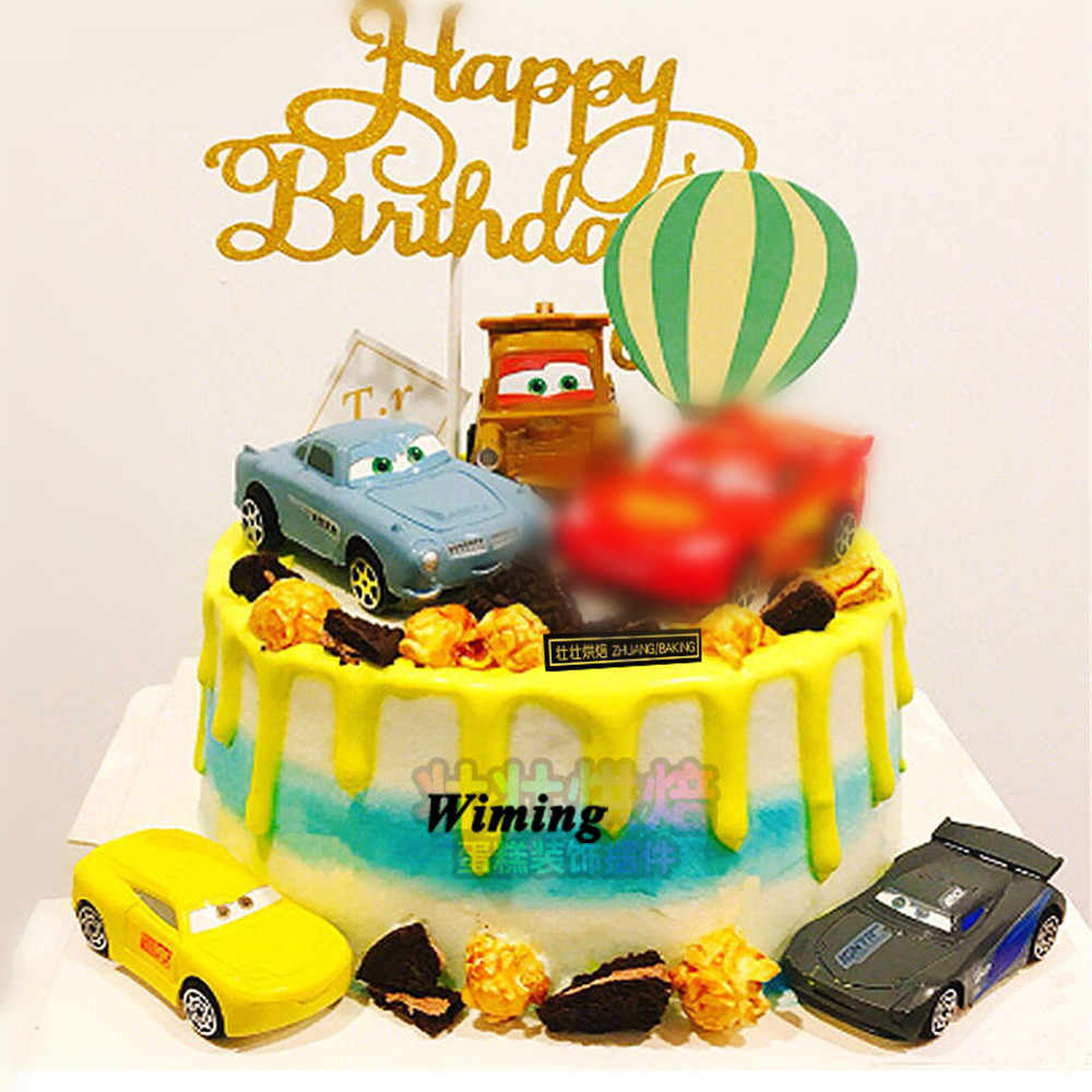 Wondrous Car Toys For Children Cupcake Toppers Cake Decorating Kids T Birthday Cards Printable Inklcafe Filternl
