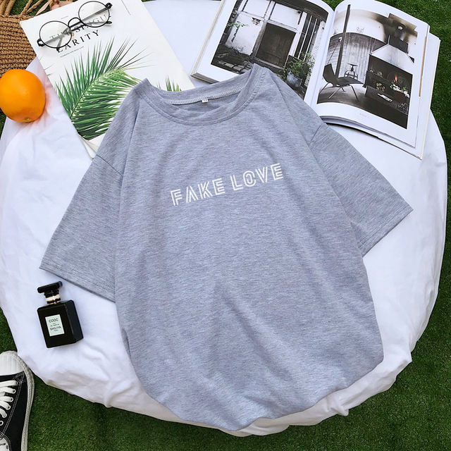 FAKE LOVE T-SHIRT (5 VARIAN)