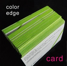 Buy printing business card and get free shipping on aliexpress color edge thick business card printing customchina reheart Choice Image