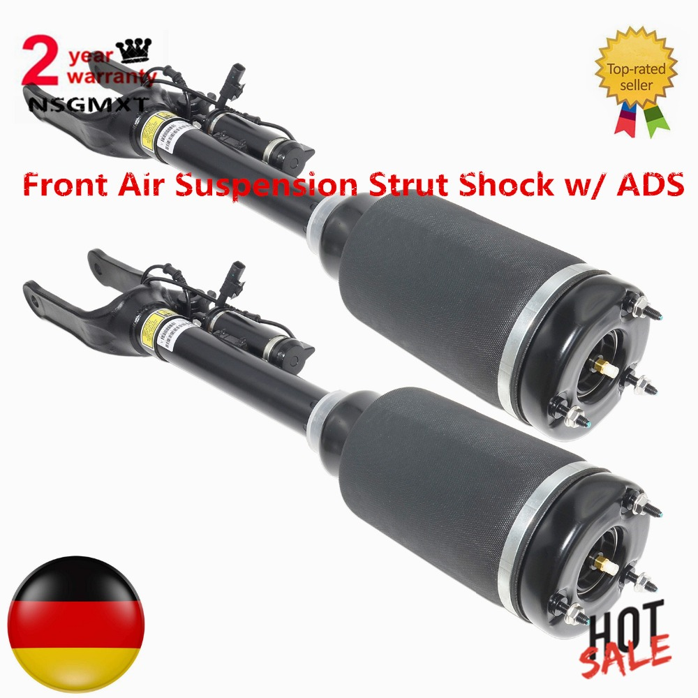 AP02 Pair Air Suspension Struts Shock W/ADS For Mercedes M GL/ML-Class X164 W164 1643205813 A1643204413 A1643204613 1643205913(China)