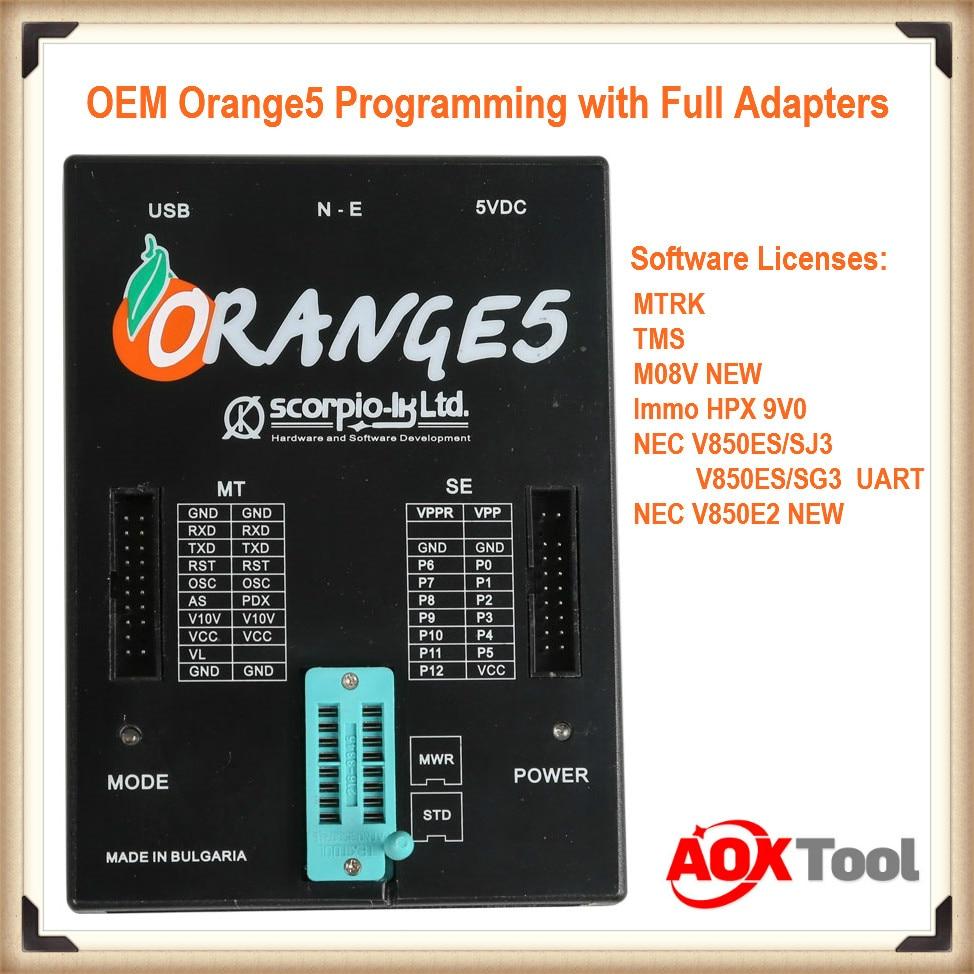 High Quality OEM Orange5 Programmer Orange 5 Programmer With Full Packet Hardware + Additional Software