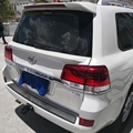 SHCHCG Für Toyota Land Cruiser LC200 2008-2012 ABS Kunststoff Unlackiert Primer Farbe Hinten Stamm Flügel Heckspoiler Auto zubehör