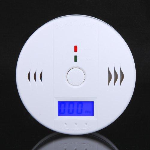 LCD indépendant CO capteurs de monoxyde de carbone et alarme Protection de sécurité capteur d'alarme incendie CO détecteur d'empoisonnement au carbone