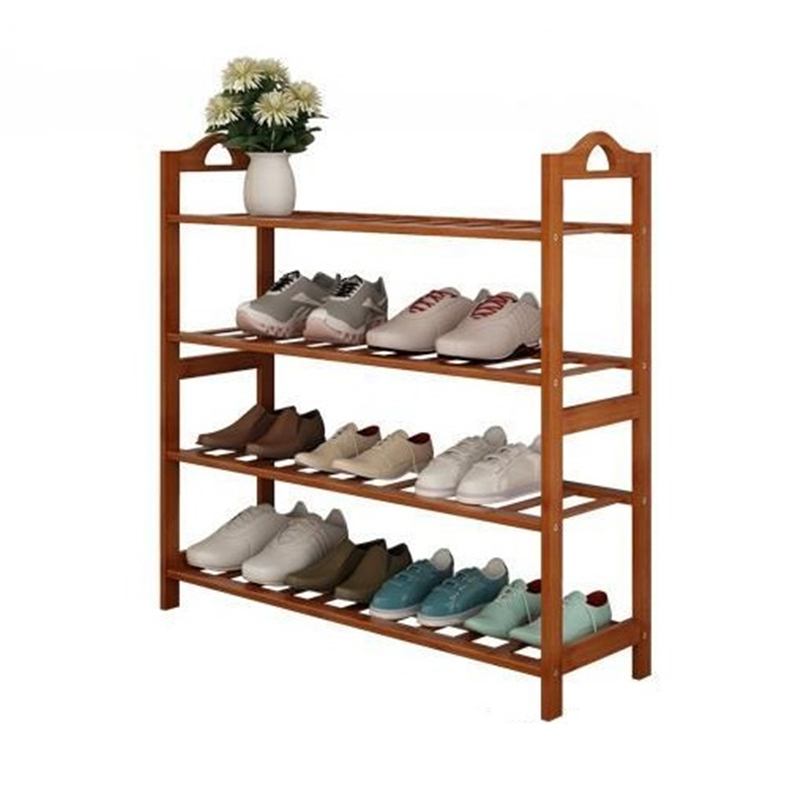household dust storage rack multi-function racks Simple modern economical shoe reinforcing steel double simple shoe storage rack assembly cheap thicker dust specials