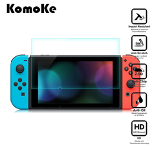 2Pcs/Lot(1Glass+1Wipe) For Nintendo Switch NS Console Protector Cover Skin Tempered Glass Screen Protective Film Surface Guard tempered glass ultra clear full hd screen protective film surface guard for nintend switch ns console protector cover skin