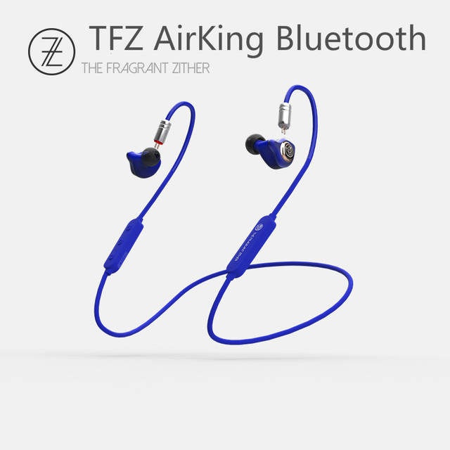 TFZ Airking Bluetooth 4.1 12mm Graphene Sports Wireless In-ear Hanging Neck Run HIFI Monitor Earphones w/ 0.78 Detachable IEMS 2