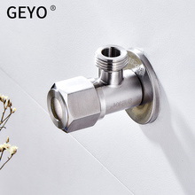 GEYO Outlet SUS 304 Stainless Steel Angle Valve Drawing Kitchen Bathroom Accessories Water Heater Angle Valves signbord outdoor outlet sign stainless steel backlit ad light signboard billboard store bar hotel customized design to drawing
