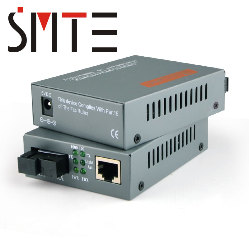 1 pair HTB-GS-03-A/B 3km 1000Mbps Single mode single fiber Gigabit Fiber Optic Ethernet Media Converter1 pair HTB-GS-03-A/B 3km 1000Mbps Single mode single fiber Gigabit Fiber Optic Ethernet Media Converter