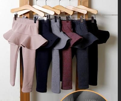 Штаны для маленьких девочек, детские леггинсы, осень-весна 2018, хлопковые леггинсы для девочек, юбка-брюки для девочек, многослойные юбки, дет...