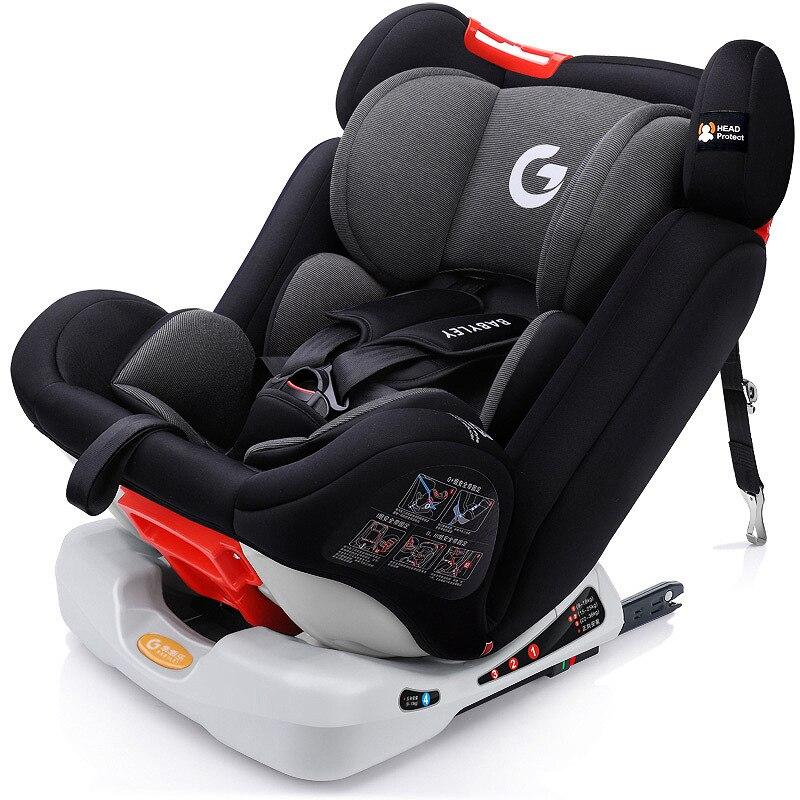 Réglable siège auto pour enfant 0-12Y Grand Angle Confort ISOFIX Interface Voiture de Sécurité Sièges convient à 9-36 KG bébé offre spéciale