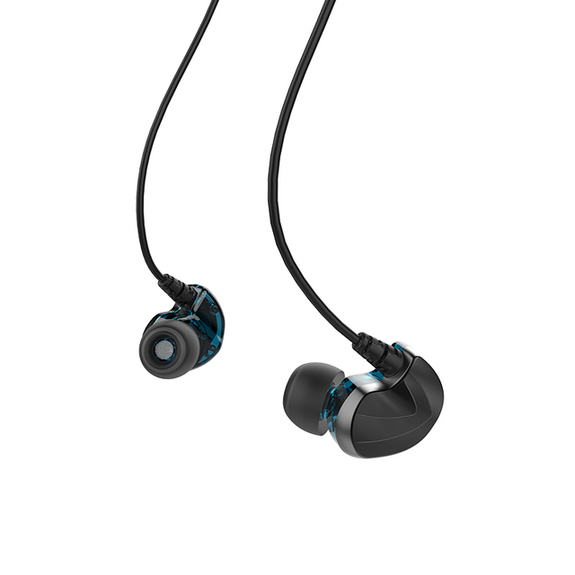 FIDUE A73s Hybrid Balanced Armature+Dynamic Driver with MIC HiFi In-Ear Earphone for Phone with 3.5mm CTIA Standard jack 3