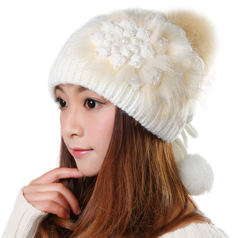 #1808 Luxury cap Faux Fur Winter fur hat 2016 Fashion Beanies Casquette femme Beanie Hats for women Gorros Touca Inverno bonnet mengpipi womens letters knitted hats winter glass sequins beanie hat cap chapeu gorros de lana touca casquette cappelli bonnets