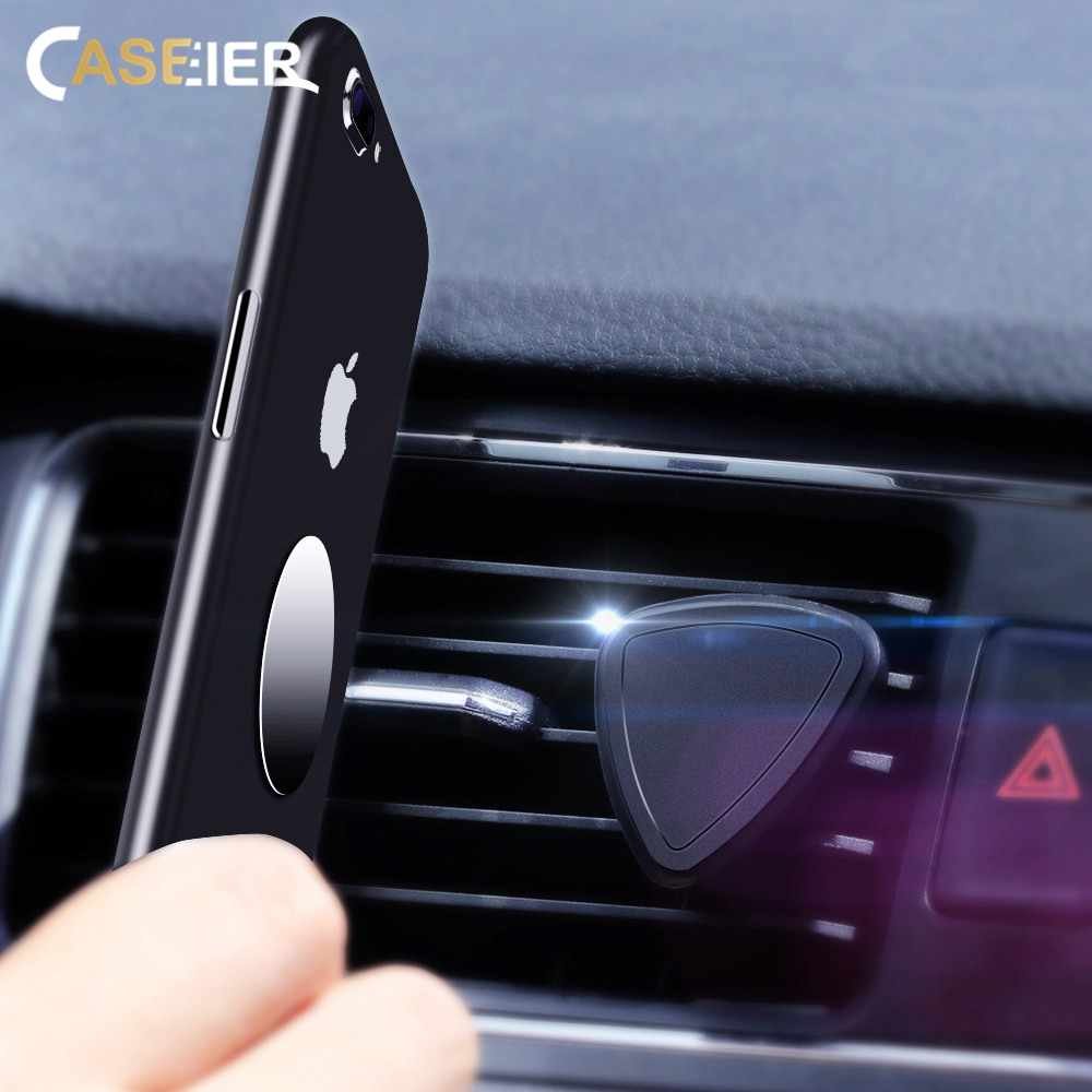 CASEIER Magnetic Car Phone Holder Universal Air Vent Mount Holders For Mobile Phone in Car Stand Telefoonhouder Auto Tutucu