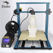 2017 Лидер продаж! 3D принтер CR-10 большой размер печати 3D-принтеры комплект DIY с 200 г нитей, ЖК-дисплей, sd карты, Инструменты как подарок (creality 3D)