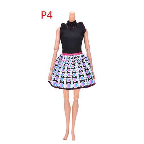1pc Nieuwste Mooie Handgemaakte Party Doll Dress Kleding Top Mode Jurk Voor Barbie Noble Pop Beste Kind Girls'Gift Hot koop