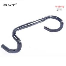 Marke BXT vollcarbon rennrad lenker matt/glänzend fahrrad lenker carbon gebogen bar 400mm-460mm 197g fahrrad teile