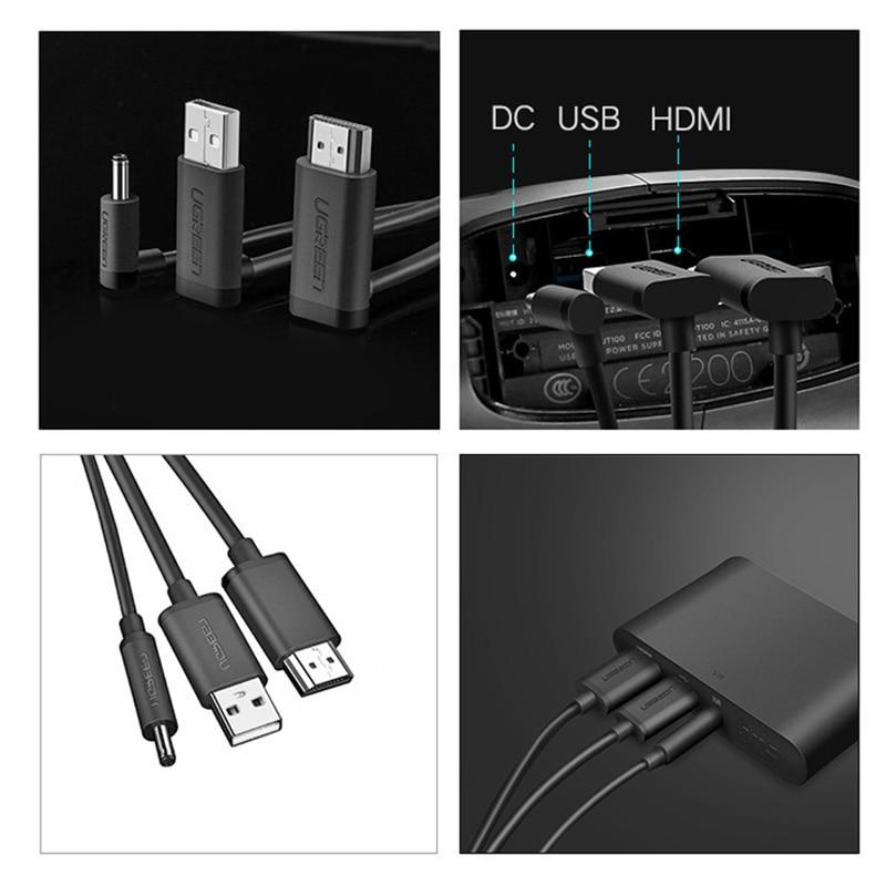 HDMI и USB постоянного тока 3 в 1 кабель для HTC ВИВЕ VR Гарнитура шлем ВР кабельные аксессуары, быстрая доставка