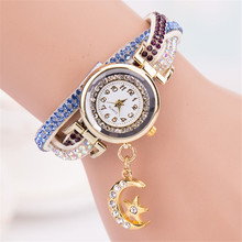 Feitong Luxury Rhinestone Wave Bracelet Wrap Watches Women Ladies Quartz Watches Women Relogio Feminino Montre Femme Reloj Mujer
