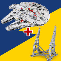 Lepin 05132 New Ultimate Collector's Destroyer Star Wars Series Building Blocks Bricks Ucs Millennium Falcon LegoINGlys 75192