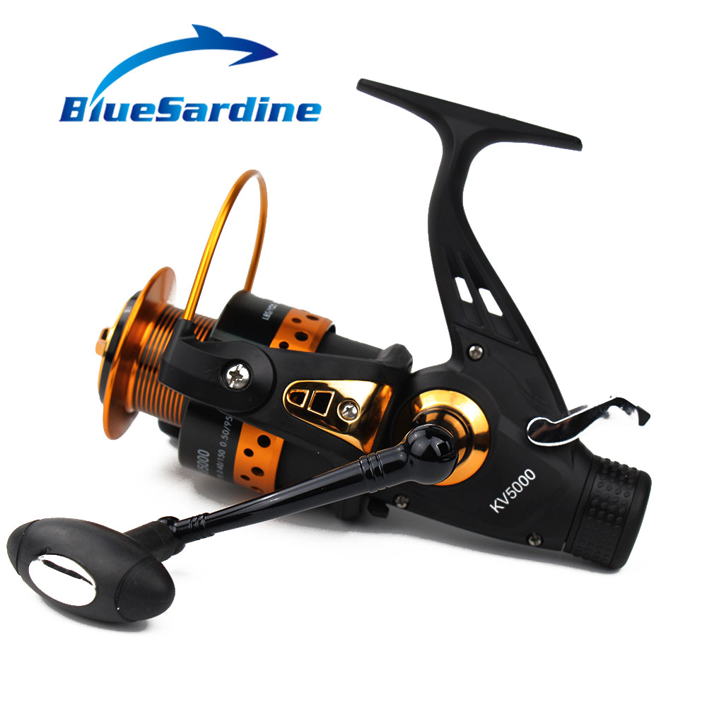 BlueSardine 13 + 1 BB 5.2: 1 Metal Spinning Fishing Reel Pesca - თევზაობა - ფოტო 2