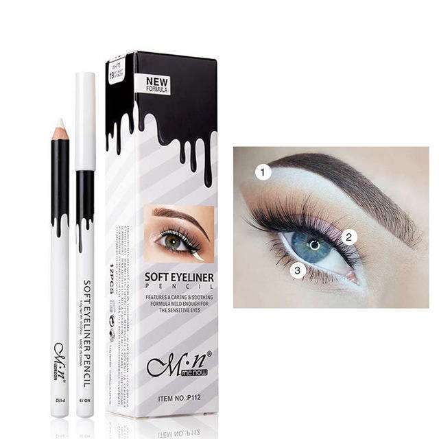 Manooby Hot Quick Dry Eye Liner Pencil Cosmetics Tool For Women Seal Liquid Black Eyeliner Waterproof Long-lasting Cosmetics Back To Search Resultsbeauty & Health