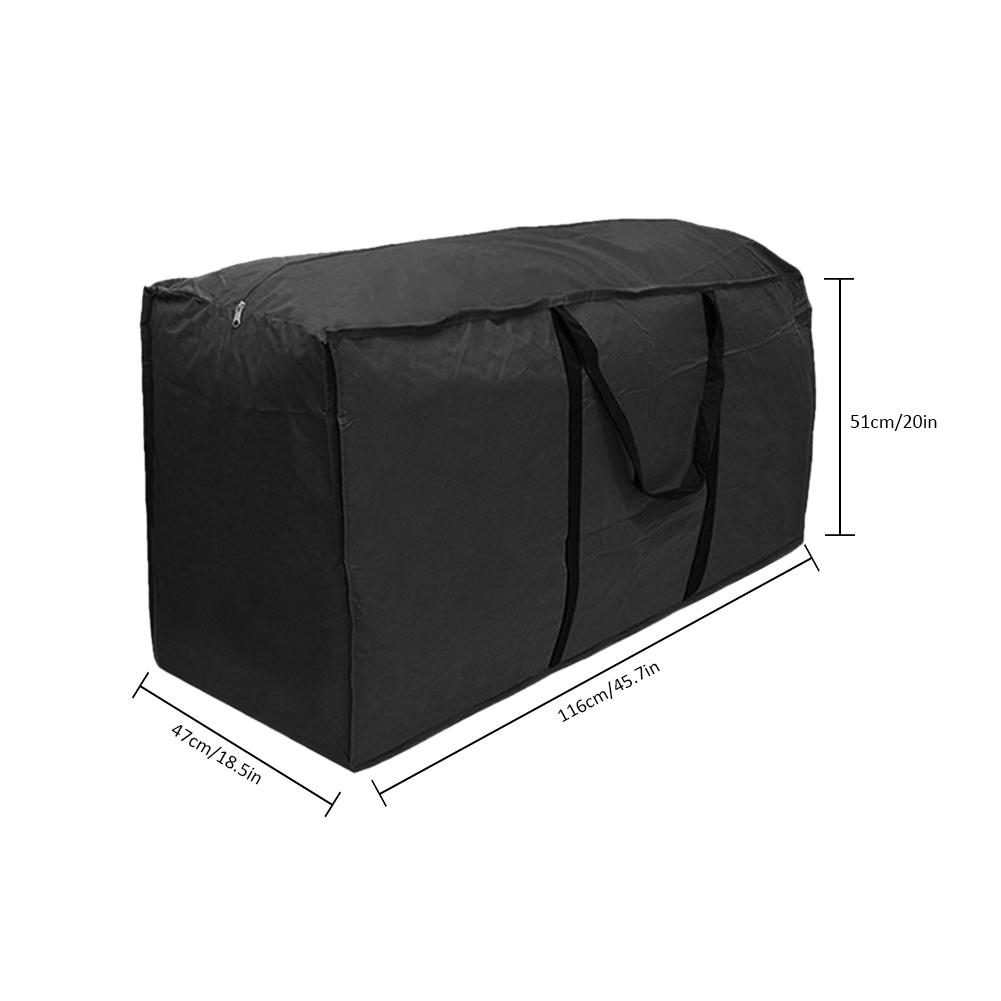 Image 4 - Outdoor Furniture Cushion Storage Bag Christmas Tree Organizer Home Multi Function Large Capacity Sundries Finishing Container-in Storage Bags from Home & Garden