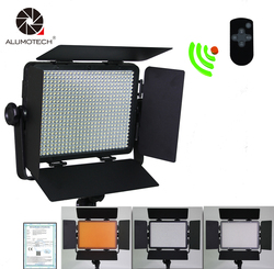 ALUMOTECH LED Video Light 36W Dimming Remote 3300K/5600K For Studio Video Photography Camera Camcorder& Wireless Remote Control