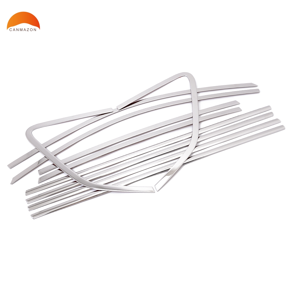 For Renault Koleos 2008-2012 Stainless steel Complete Window Sill Belt Trim Windows Molding Trims glass strips car-styling