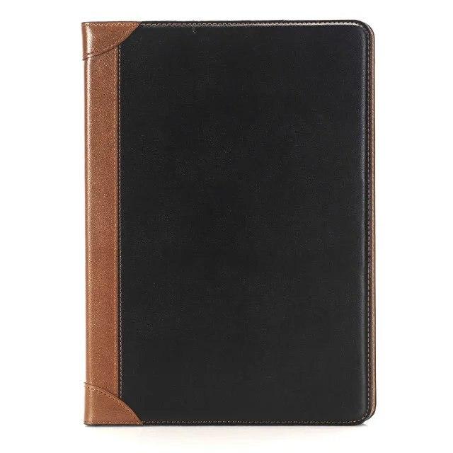 Gładki Styl Book Pokrywa Gniazda Karty Uchwyt Stojak Folio PU Leather Magnetic inteligentne Uśpienia Case Dla Apple iPad Air 2 6 9.7 cal Tablet