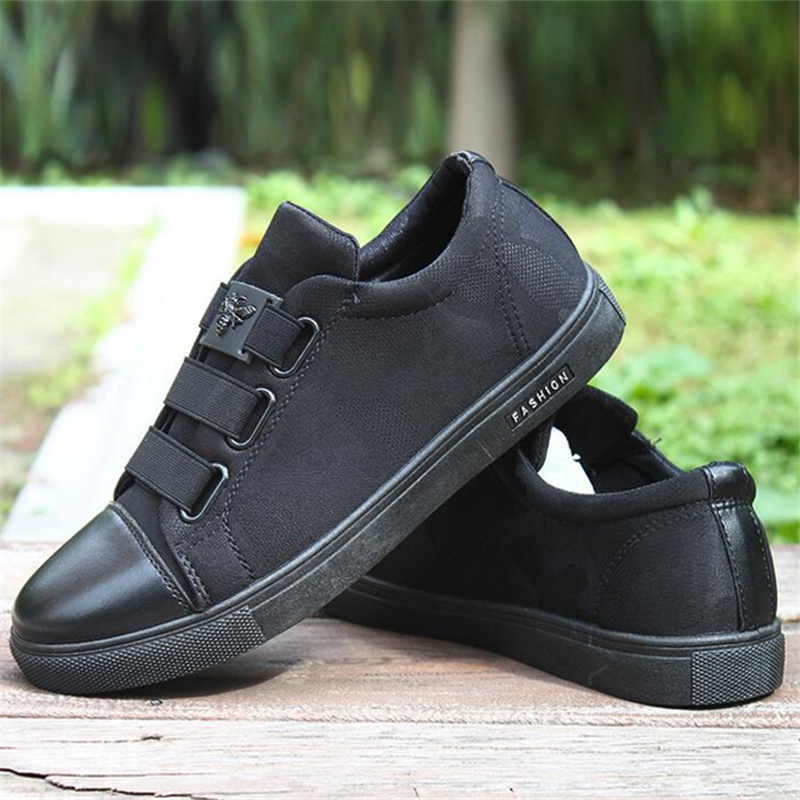 2018 New Ak170 Chaussures Qualité Hommes Appartements Haute Akexiya And Noir Toile Noir Red Zapatos Respirant Hombre Casual Mode black 6xnwXnv5