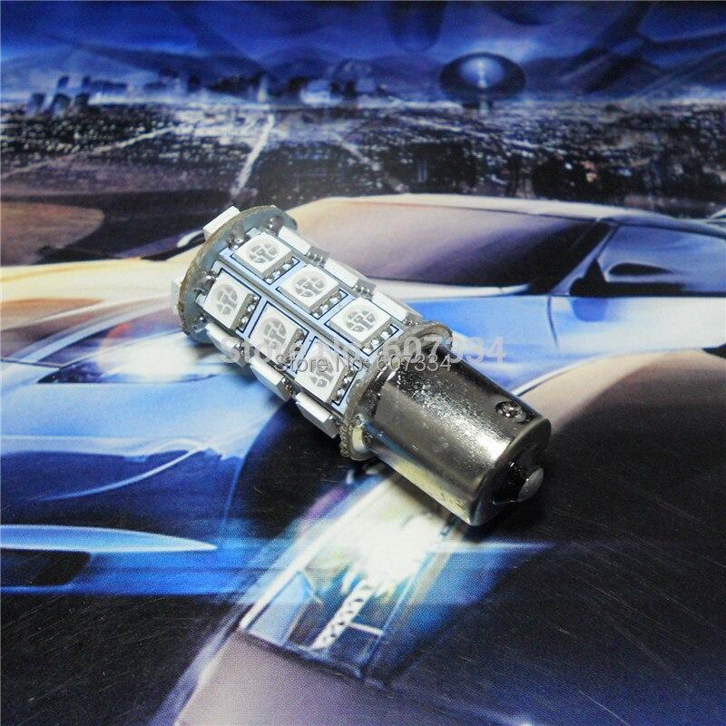 12V LED 차 전구 램프 P21W S25 BA15s / 1156 150도 각 단 하나 - 자동차 조명 - 사진 2