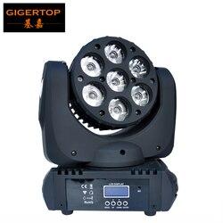 Próbki 7x12 w RGBW 4in1 wysokiej mocy Cree LED ruchome głowy światło w konkurencyjnej cenie oświetlenie DJ światło sceniczne/ TIPTOP etap oświetlenie w Oświetlenie sceniczne od Lampy i oświetlenie na
