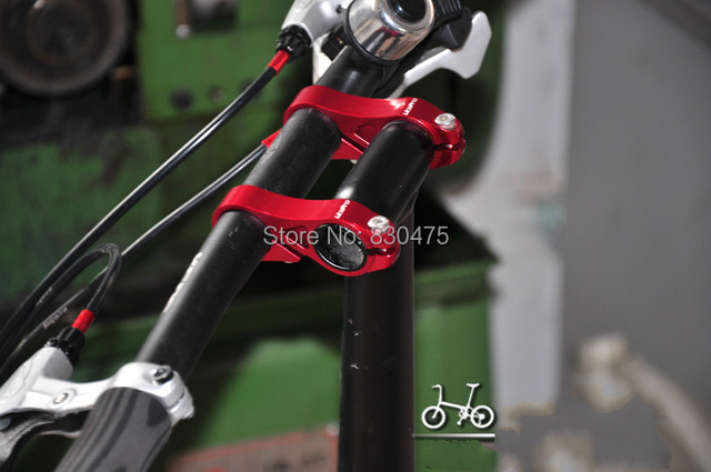 Litepro adjustable double stem folding bike stem bmx stem riser bicyle handlebar stem