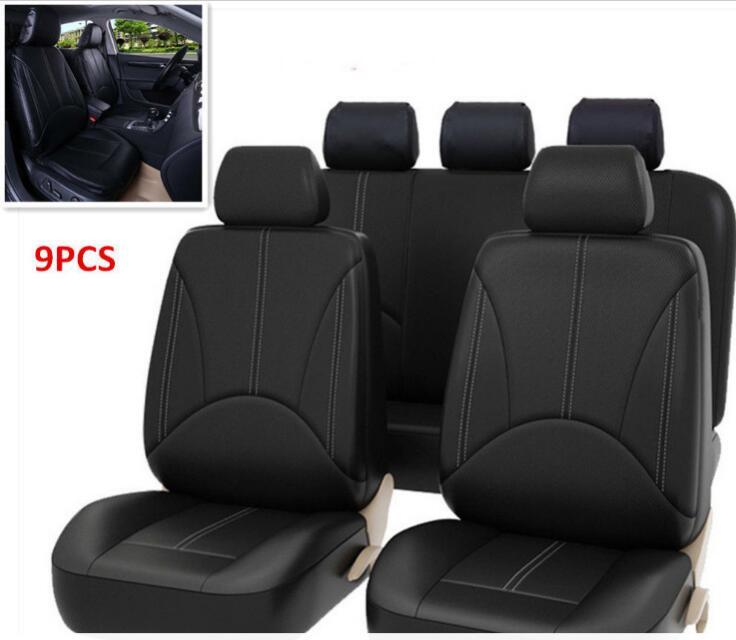 2018 Luxury PU Leather Auto Universal Car Seat Covers Car Seat cushion for toyota lada mazda granta priora volvo nissan