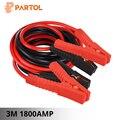 Partol 3 м 1800AMP автомобиля Батарея Перейти кабель Booster кабель аварийного терминалы скачок стартер приводит кабели провод для автоматического В...